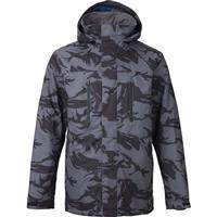 True Black DPM Camo Burton Breach Jacket Mens