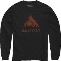 True Black Heather Burton Stamped Mountain LS Shirt Mens