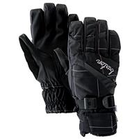 True Black Plaid Burton Gore Under Gloves Womens