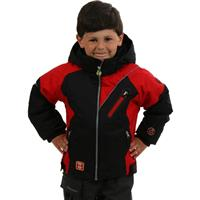 True Red Obermeyer Super G Jacket Preschool Boys