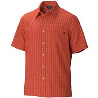 True Red Ochre Marmot Eldridge SS Shirt Mens