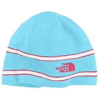 Turquoise Blue The North Face Logo Beanie Youth