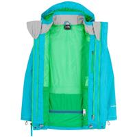 Turquoise Blue The North Face Maraboo Triclimate Jacket Girls
