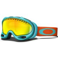 Turquoise Fire Frame / Fire Iridium Lens (57 006) Oakley A Frame Goggle