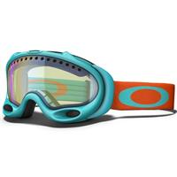 Turquoise Fire Frame / H.I. Yellow Lens (57 225) Oakley A Frame Goggle