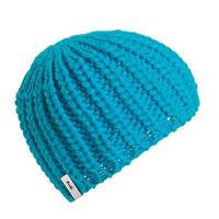 Turquoise Turtle Fur Bubbles Hat Womens