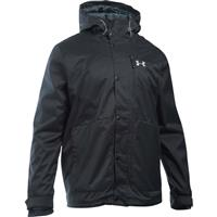 Black / Black / Steel Under Armour CGI Porter 3 in 1 Jacket Mens