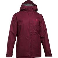 Black / Red Under Armour CGI Powerline Insulated Jacket Mens