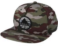 Camo Burton Underhill Hat Mens