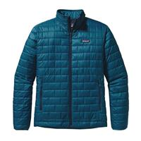 Underwater Blue Patagonia Nano Puff Jacket Mens