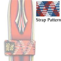 US Flag Fast Strap Regular Ski Strap