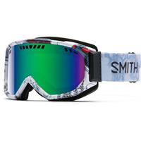 Vagabond Frame with Green Sol X Lens Smith Scope Goggle