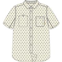 Vanilla Dobby Burton Glade SS Shirt Mens