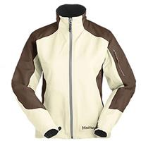 Vanilla / Wood Marmot Ascend Jacket Womens