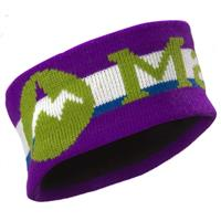 Vibrant Purple Marmot Retro Earband Mens