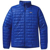 Viking Blue Patagonia Nano Puff Jacket Mens
