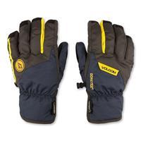 Vintage Black Volcom CP2 Glove Mens hand