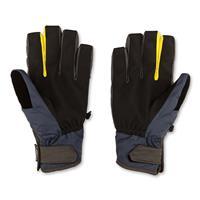 Vintage Black Volcom CP2 Glove Mens palm