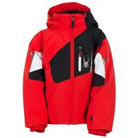 Volcano / Black / White Spyder Mini Leader Jacket Boys