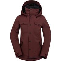 Burgundy Volcom Eagle Ins Jacket Womens