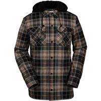 Teak Volcom Field Bonded Flannel Mens