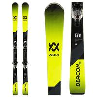 Volkl Deacon 75 Skis + vMotion 10 Bindings Mens