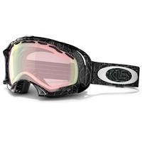VR50 Pink Iridium Oakley Splice Goggles / Silver Factory Text