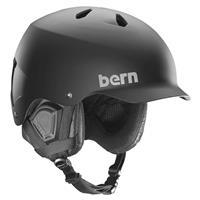 Matte Black Bern Watts EPS MIPS Helmet Mens