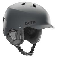 Matte Grey Bern Watts EPS MIPS Helmet Mens