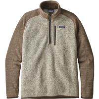Patagonia Better Sweater 1/4 Zip - Men's - Bleached Stone w/ Pale Khaki (BLPA)