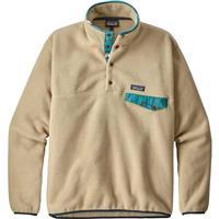 El Cap Khaki (ELKH) Patagonia Lightweight Synchilla Snap T Pullover Mens