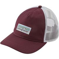 Dark Currant (DKCT) Patagonia Pastel P 6 Label Trucker Hat Womens