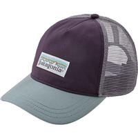 Piton Purple (PTPL) Patagonia Pastel P 6 Label Trucker Hat Womens