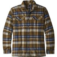 Basin / Sediment (BASE) Patagonia Long Sleeve Fjord Flannel Shirt Mens