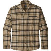 Toms Place / Mojave Khaki (TPMO) Patagonia Long Sleeve Lightweight Fjord Flannel Shirt Mens