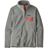 Patagonia Re-Tool Snap-T Pullover - Women's - Tailored Grey / Nickel X-Dye w/ Aurea Pink