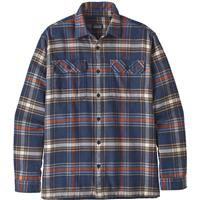 Defender / New Navy Patagonia Long Sleeve Fjord Flannel Shirt Mens