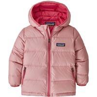 Rosebud Pink Patagonia Baby Hi Loft Down Sweater Hoody Youth
