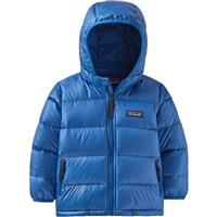 Patagonia Baby Hi-Loft Down Sweater Hoody - Youth - Bayou Blue (BYBL)