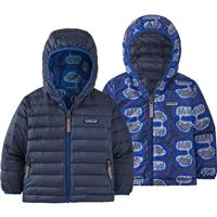 Patagonia Baby Reversible Down Sweater Hoody- Youth