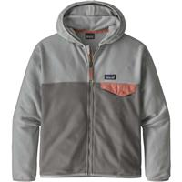 Patagonia Micro D Snap-T Jacket - Girl's - Noble Grey (NGRY)