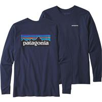 Patagonia Long Sleeve P 6 Logo Responsibili Tee Mens