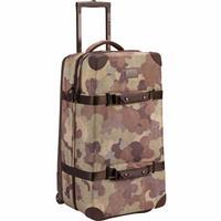 Storm Camo Print Burton Wheelie Double Deck Travel Bag