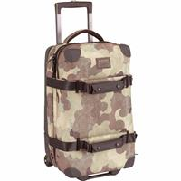 Storm Camo Print Burton Wheelie Flight Deck Travel Bag