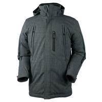 Carbon Black Obermeyer Whistler Jacket Mens