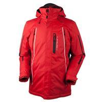 True Red Obermeyer Whistler Jacket Mens