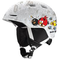White Angry Birds Smith Zoom Jr. Helmet (Angry Birds)