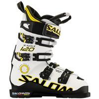 White / Black Salomon X Max 120 Ski Boots Mens