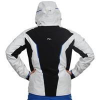 White/Black/Victoria Blue Kjus Blackbird Jacket Mens