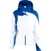 White / Blue My Mind Spyder Breaker Jacket Womens